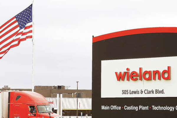 The parent company of Olin Brass, Global Brass and Copper, announced last year that it would merge with Germany-based Wieland-Werke AG. This week the signage at the facility was finally changed to reflect the merger. The name Olin Brass was also scrapped off the end of the large metal building at the plant on Illinois 3 in East Alton and some signage near the main Olin plant has also been upgraded. For local residents who have seen the iconic Olin Brass sign for decades, it was a bit of an eye catcher.