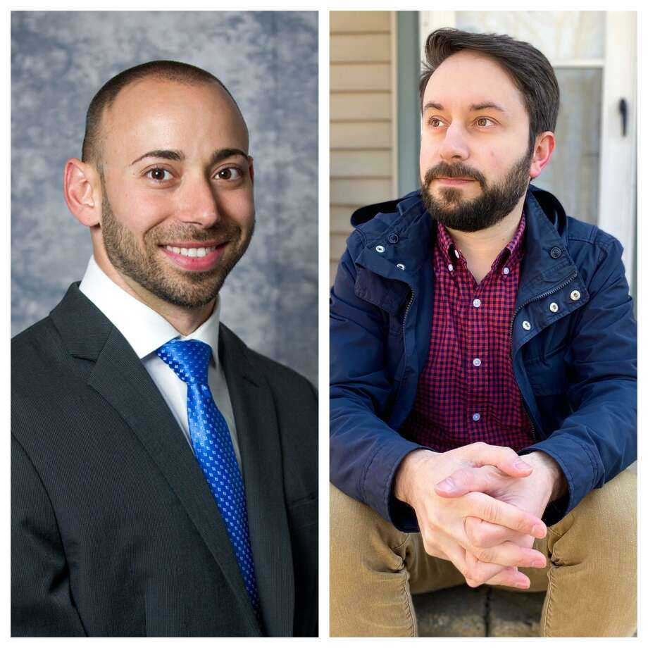 Incumbent state Rep. Joe Zullo, R-East Haven, left, and Democrat Dave Yaccarino, right, both received their respective parties' endorsements on Tuesday, May 19, 2020. Photo: Contributed Photos