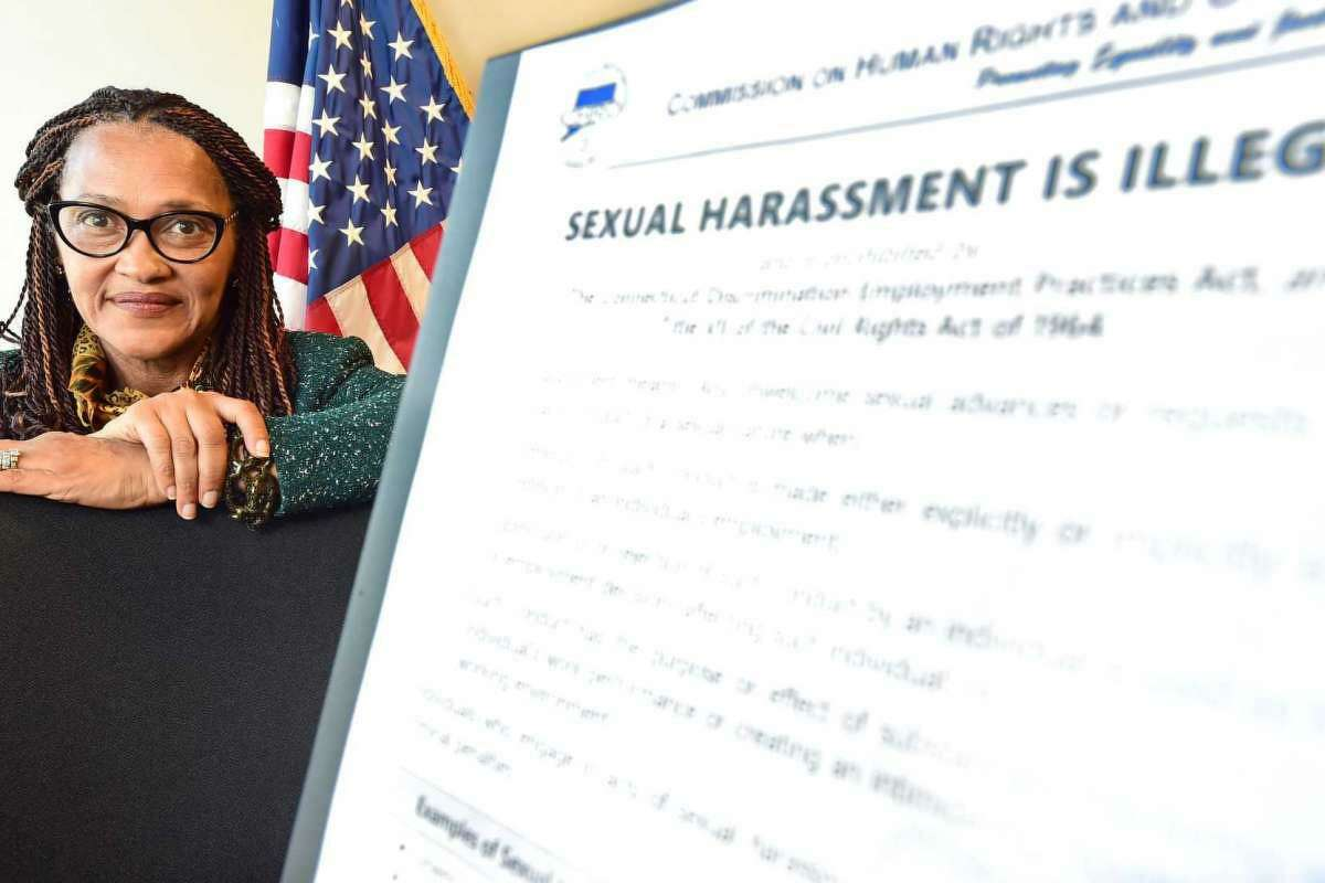 Tanya A. Hughes, Executive Director of the State of Connecticut Commission On Human Rights And Opportunities, was a key figure in a Hearst Connecticut series of workplace sexual harassment. The series won the Theodore Driscoll Investigative Award from Connecticut SPJ.