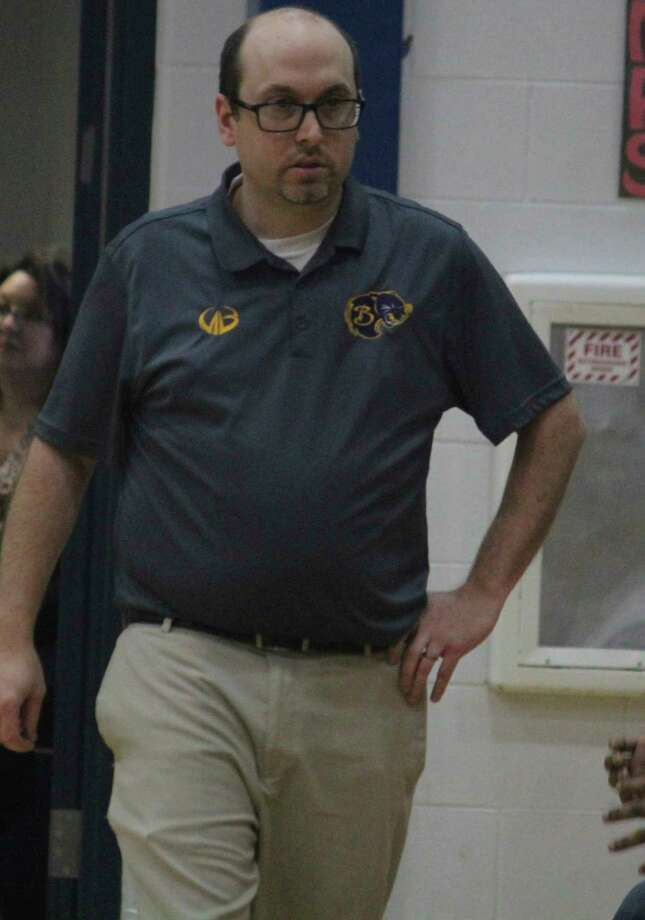 JJ Eads, now boys basketball skipper at Baldwin, formerly was boys mentor at Reed City and girls coach at Crossroads. (Pioneer file photo)