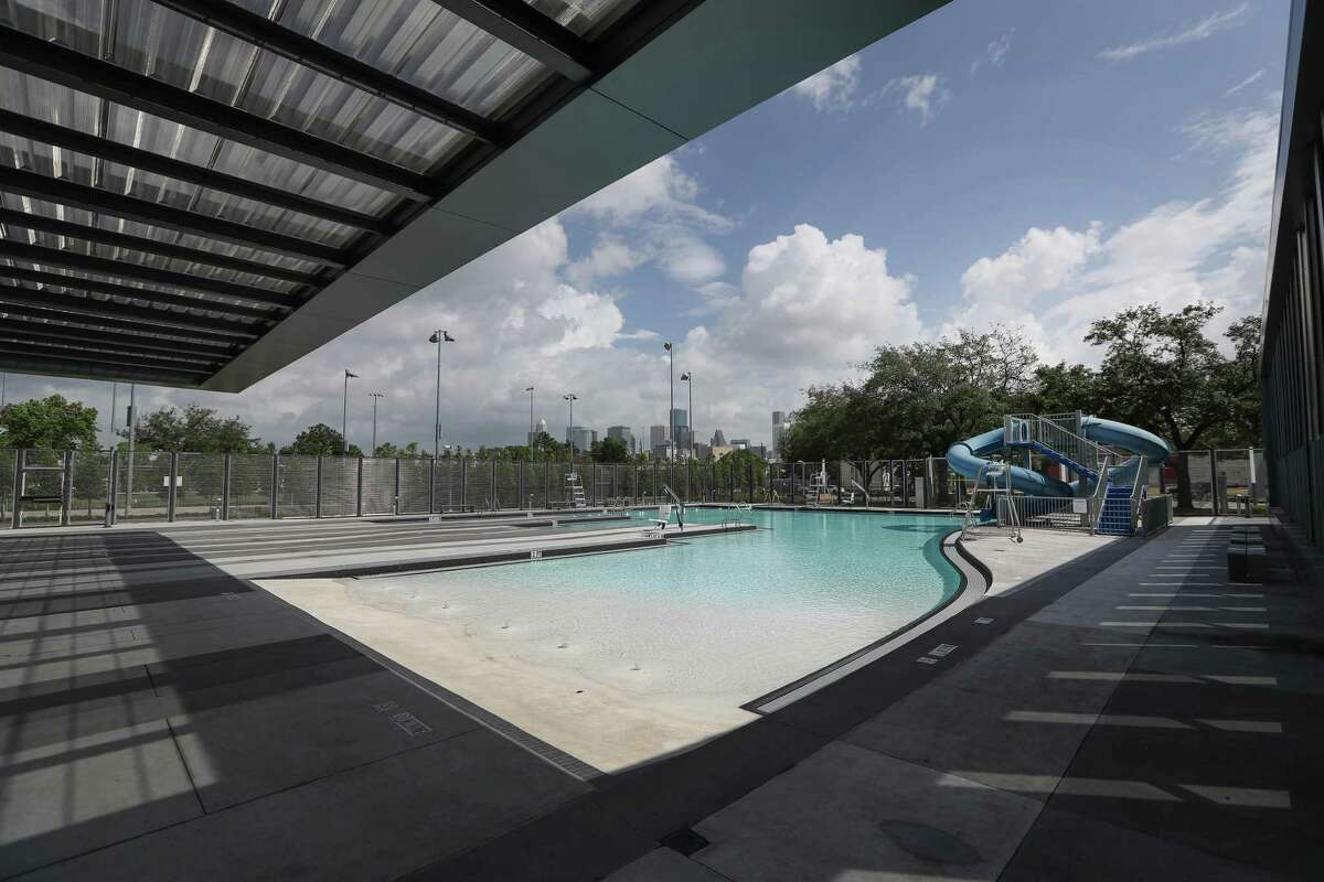 Emancipation Park's swimming pool, pictured here in June 2017.