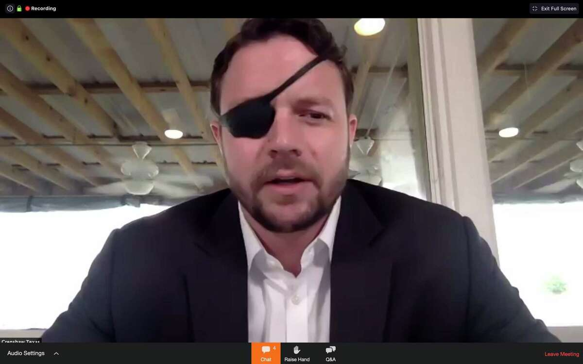 Congressman Dan Crenshaw held a virtual town hall on May 21 at The Cedar restaurant in Huffman with Harris County Flood Control District Executive Director Russ Poppe and moderated by Justin Lurie to discuss flood preparedness and regional flood mitigation updates.
