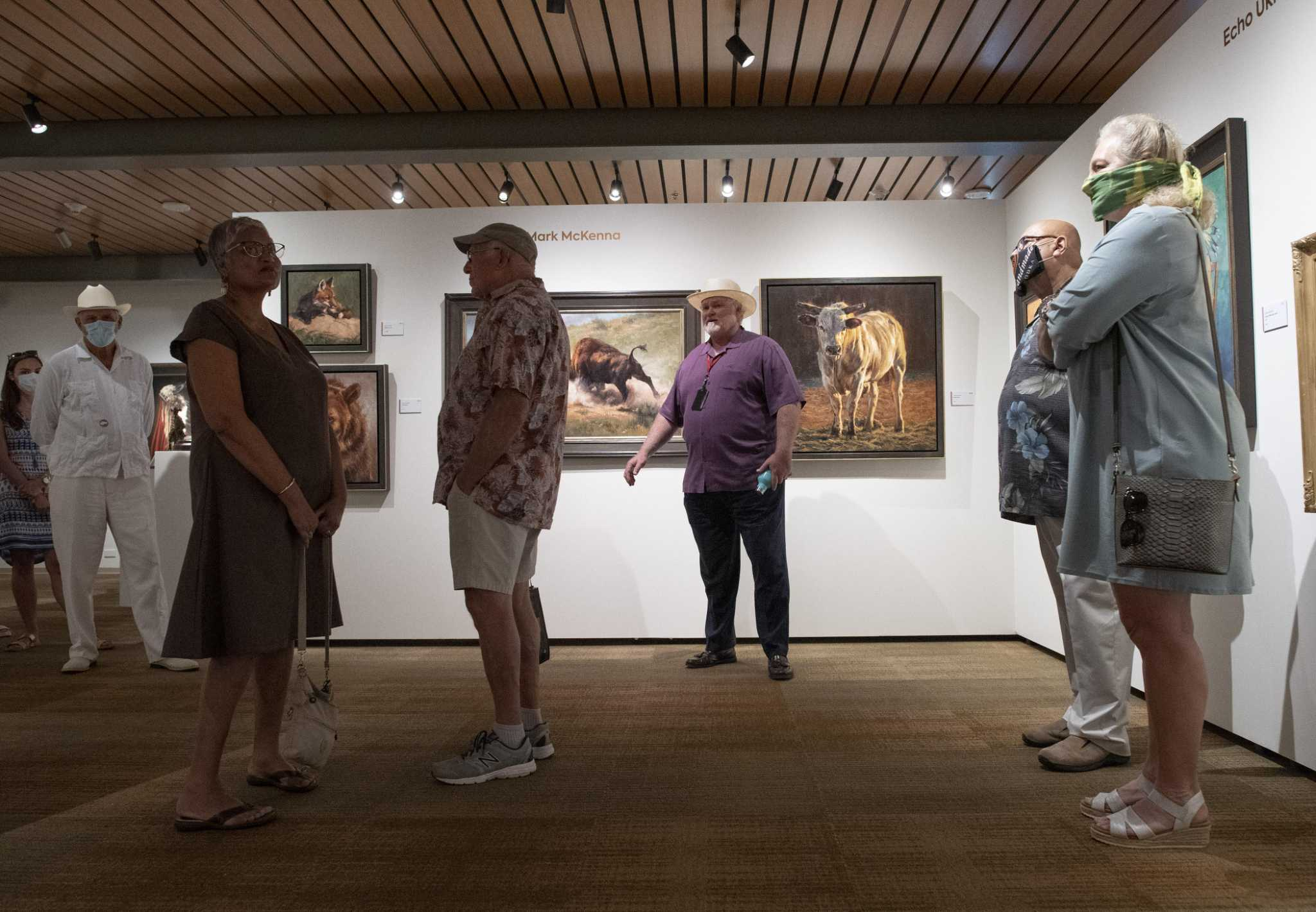 Visitors Few But Devoted As Briscoe Western Art Museum In San Antonio Reopens To Members Expressnews Com