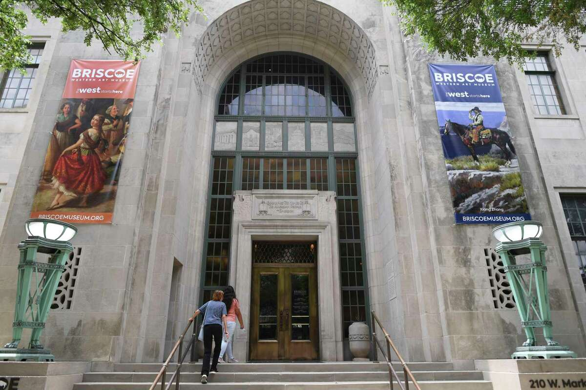 The Briscoe Western Art Museum will open to the public on Saturday.