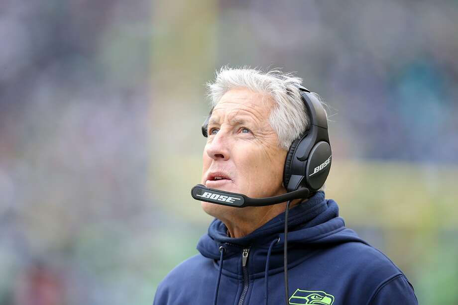 Seattle Seahawks head coach Pete Carroll on Friday told 710 ESPN Seattle that he'd be fine with NFL training camps being delayed amid the novel coronavirus pandemic, to make sure all concerns about playing football during this time have been adequately addressed. Photo: Genna Martin, Seattlepi.com