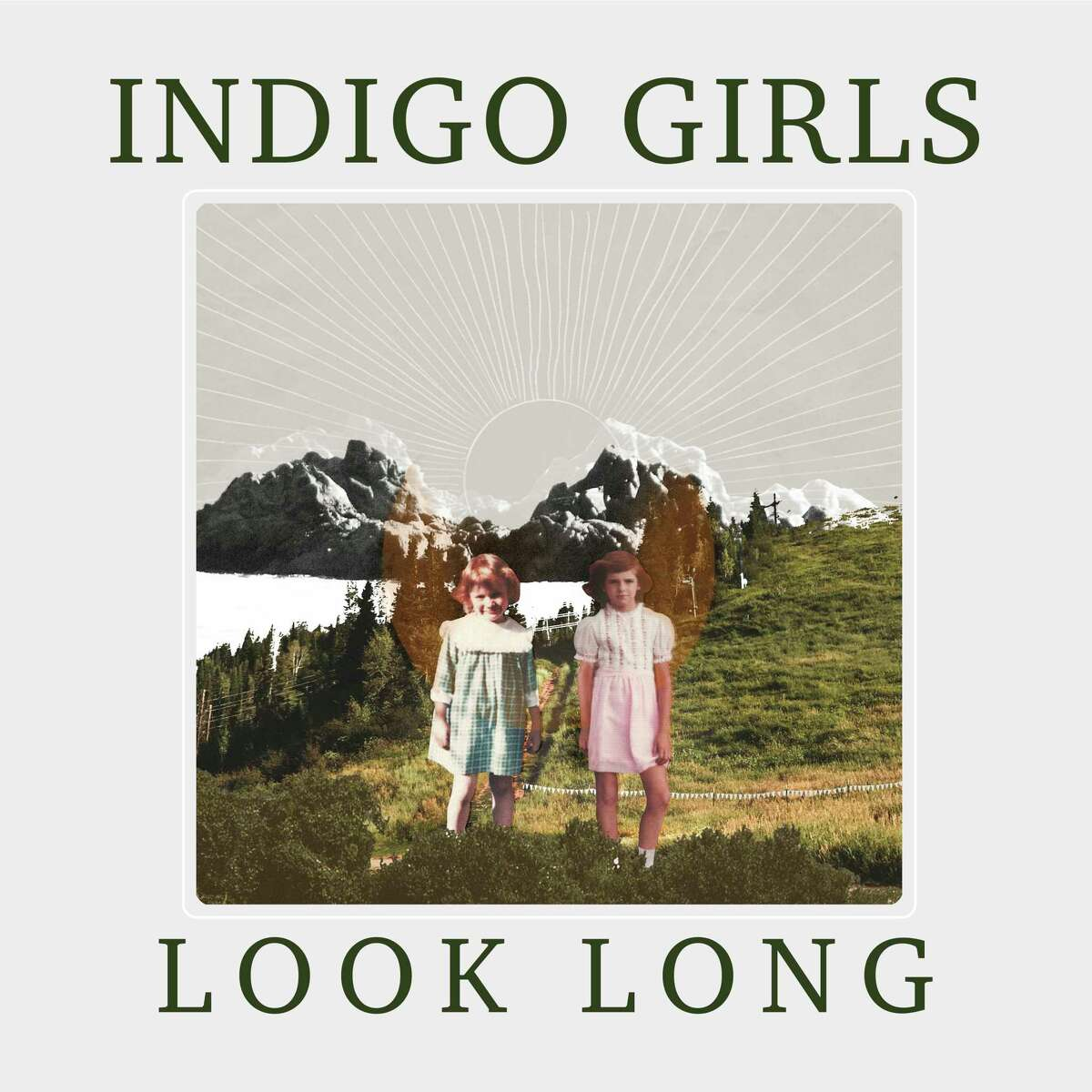 """This cover image released by Rounder Records shows """"Look Long"""" by """"Indigo Girls. (Rounder Records via AP)"""