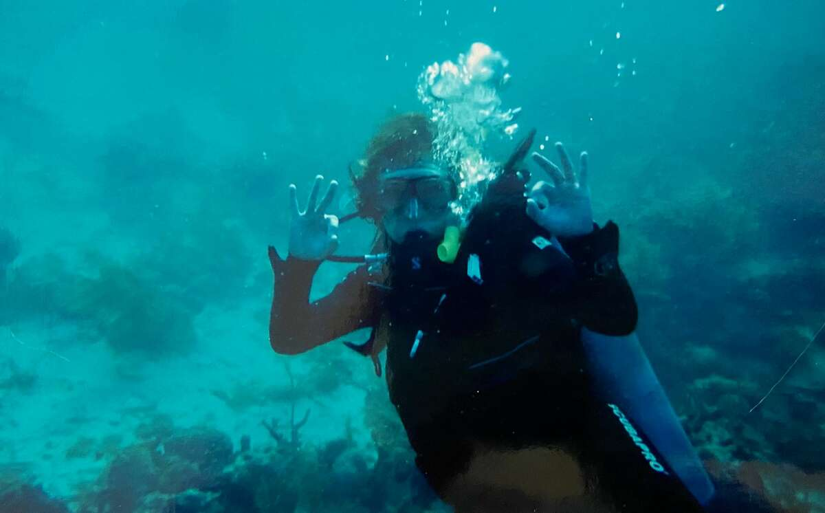 3. I'm a certified scuba diver, although I don't have much opportunity to dive.