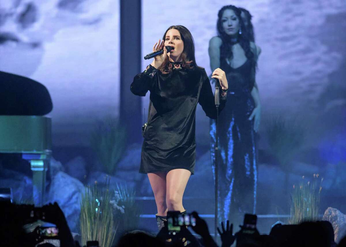 Lana Del Rey performs in Washington, D.C., in January 2018. Photo for The Washington Post by Kyle Gustafson