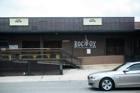 The Rock Box music venue hopes to open next month with limited capacity and social distancing. Some venues may go cashless, requiring patrons to use no-touch payment terminals instead.