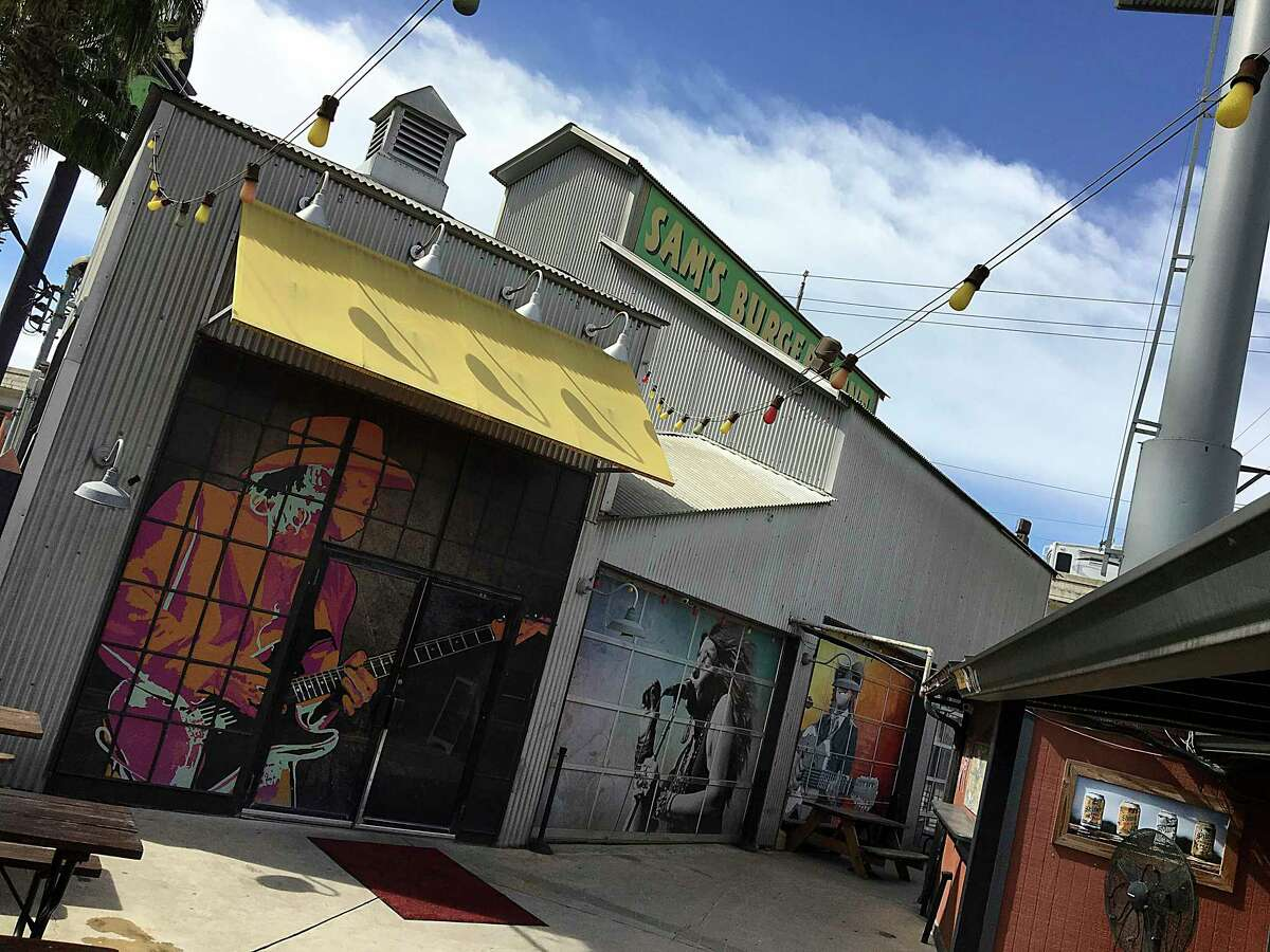 Live music will look different when it returns to Sam's Burger Joint next week, with audience members likely having to remain seted.