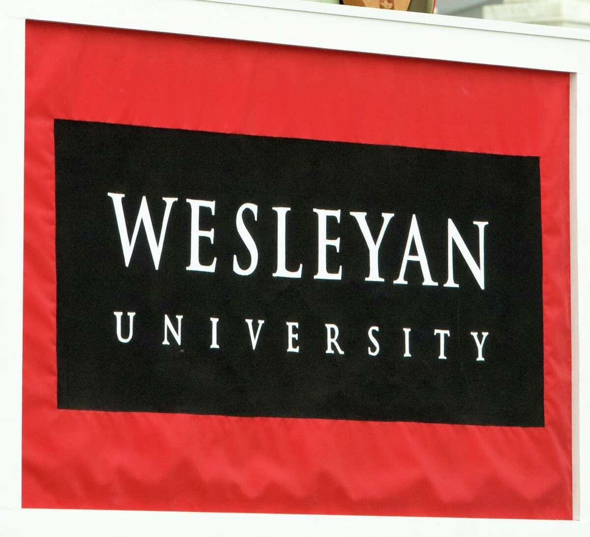 Wesleyan University is in Middletown.