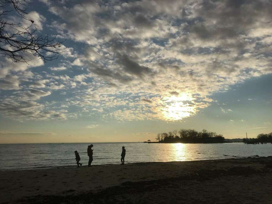 Pear Tree Point Beach. Photo: Susan Shultz /Hearst Connecticut Media /
