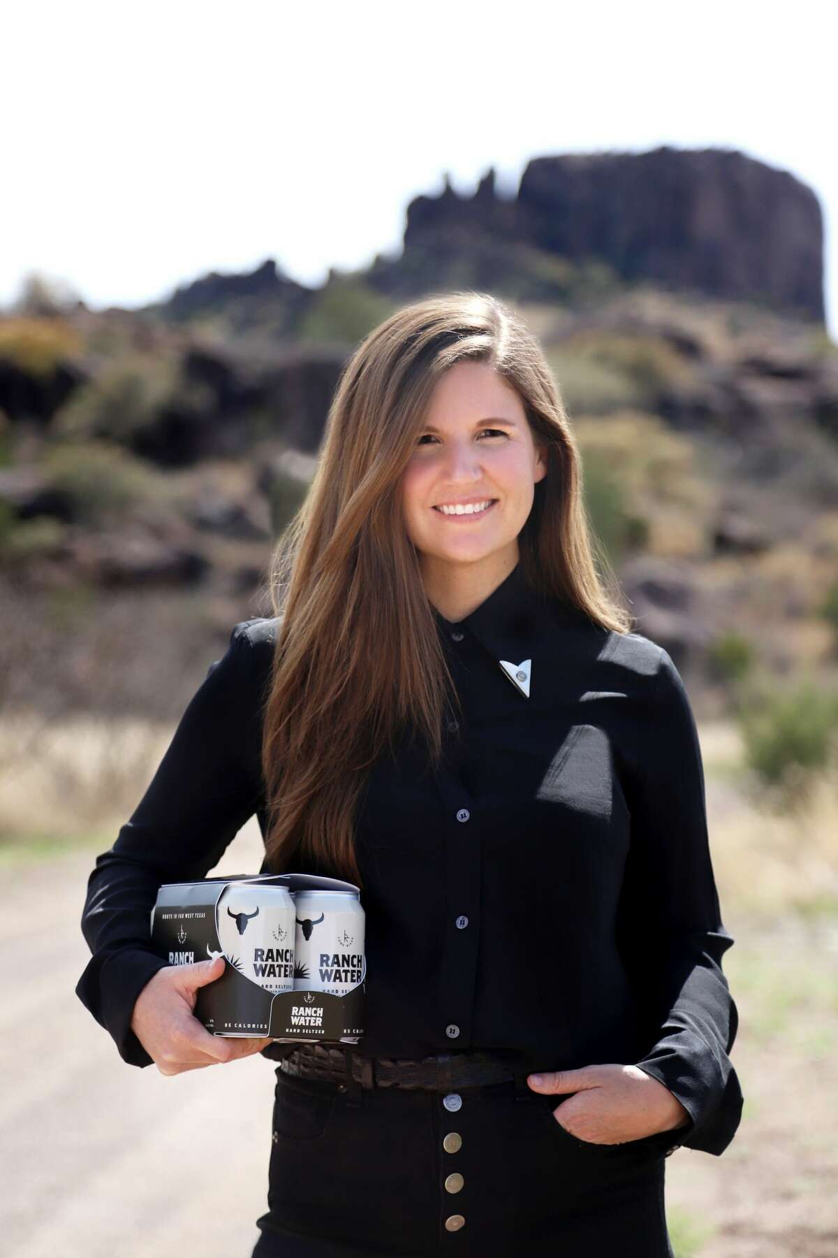 Lone River Ranch Water founder and CEO Katie Beal Brown. Travis Hallmark