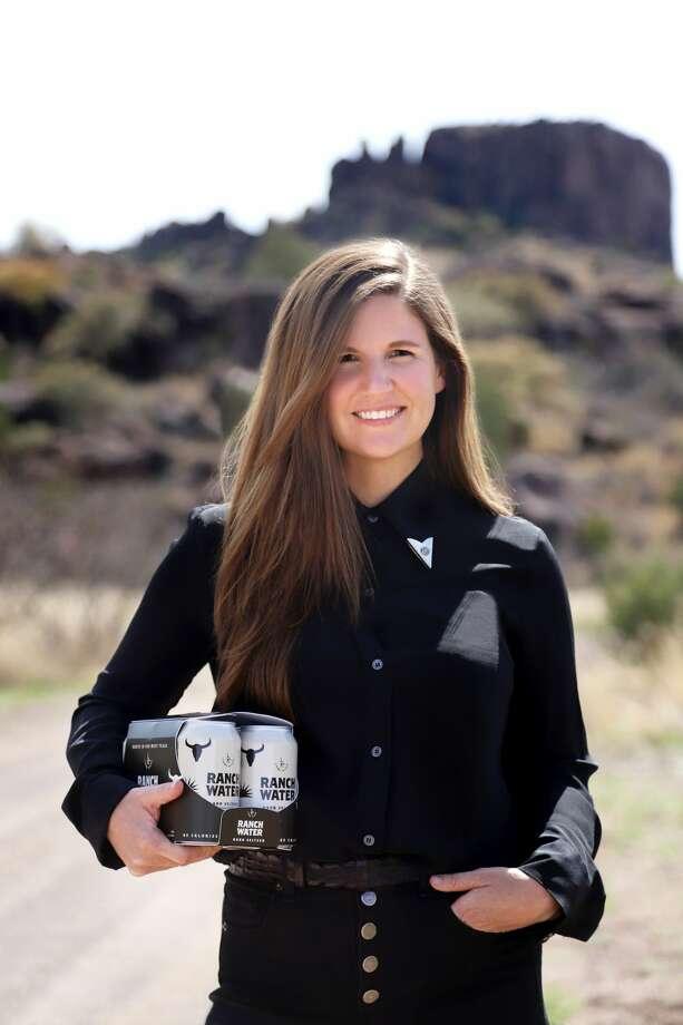 Lone River Ranch Water founder and CEO Katie Beal Brown. Travis Hallmark Photo: Travis Hallmark