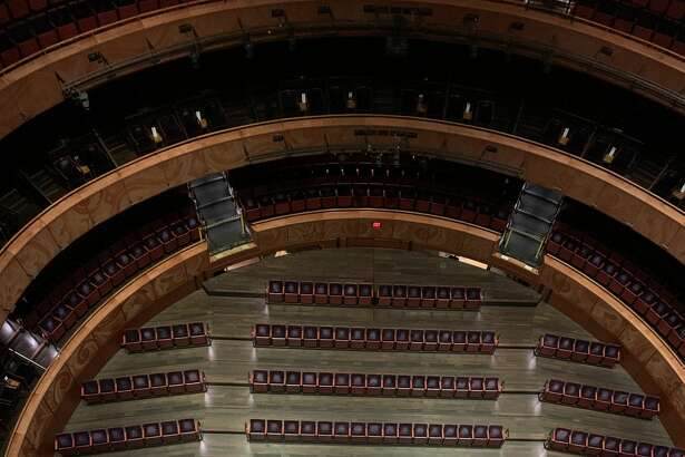 This is what the Tobin Center seating will now look like in order to adhere to COVID-19 social distancing guidelines thanks to one of a kind technology.