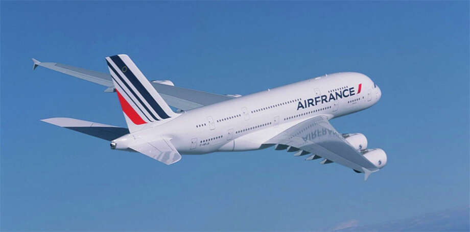 Even after traffic picks up, Air France's A380s won't start flying again, including the one that served SFO. Photo: Airbus