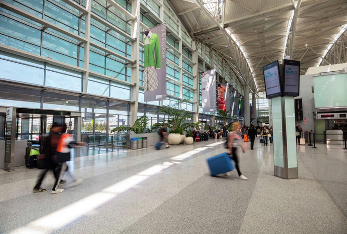 SFO's international terminal will see the return of some suspended routes in June.
