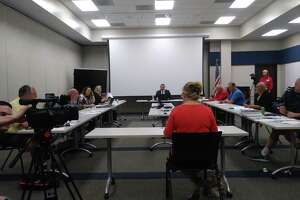 During the meeting of Harris County Emergency Services District No. 11, the board confronted Wren Nealy with Cypress Creek EMS about issues with CCEMS and funds.