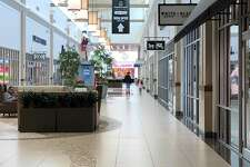 The Tanger Mall area, which is open during phase one of the plan, beginning June 1.
