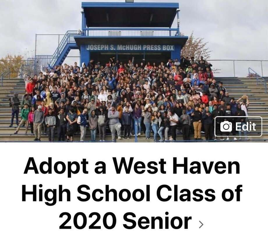 West Haven High School's class of 2020 Photo: Contributed Photo