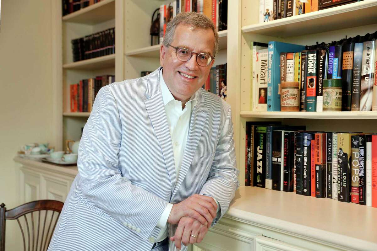 Baker Botts litigation partner Bill Kroger, who has become the 115th president of the Houston Bar Association, at his home where he's been working during the pandemic Friday, May. 22, 2020 in Houston, TX.