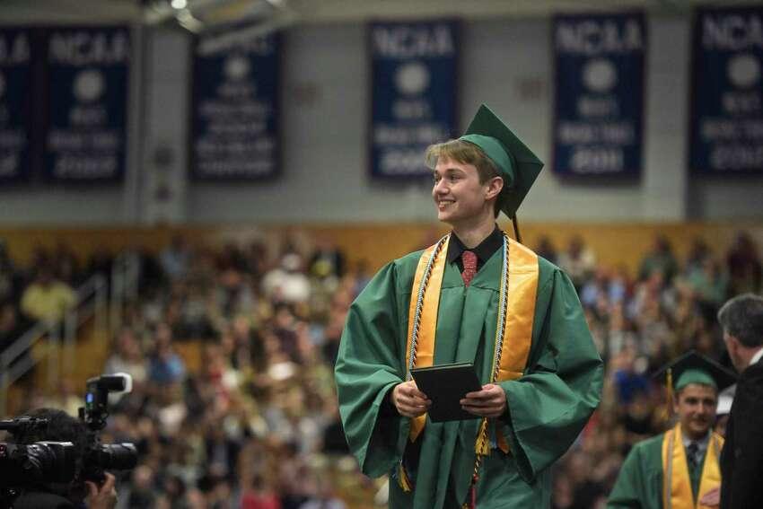 New Milford High School 2018 Graduation, Saturday June 23, 2018, at The O'Neil Center, Western Connecticut State University, Danbury, Conn.