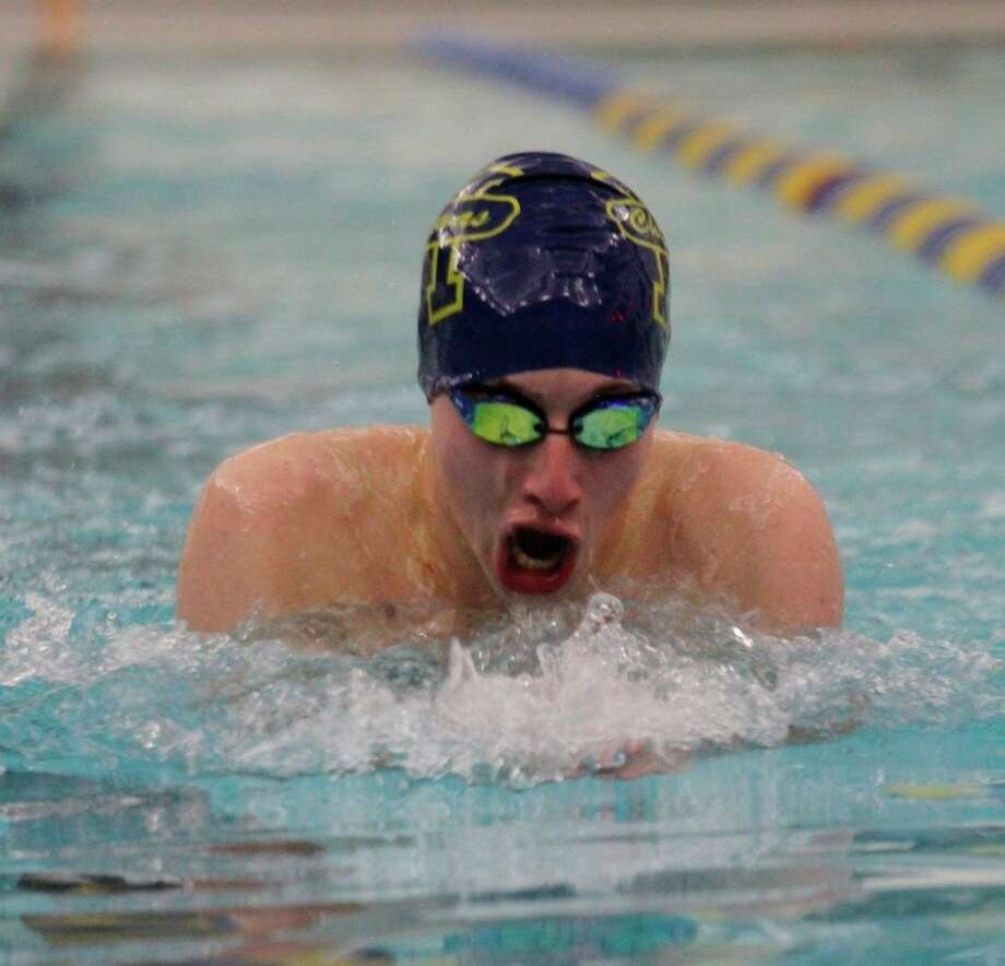 Manistee's Zack Lee was named All State by the Michigan Interscholastic Swim Coaches Association. (News Advocate file photo)