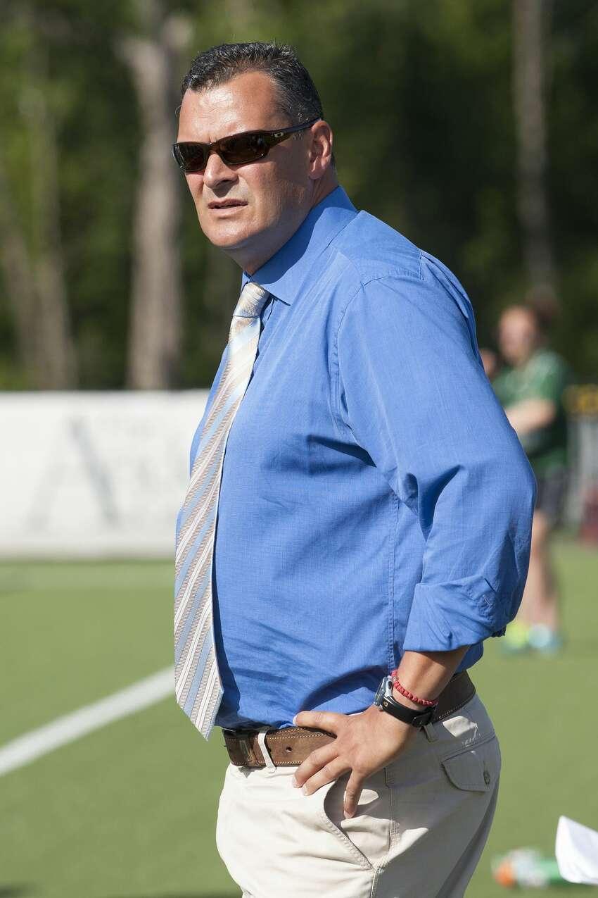 Siena men's soccer coach Cesar Markovic. (Courtesy of Siena Athletics)