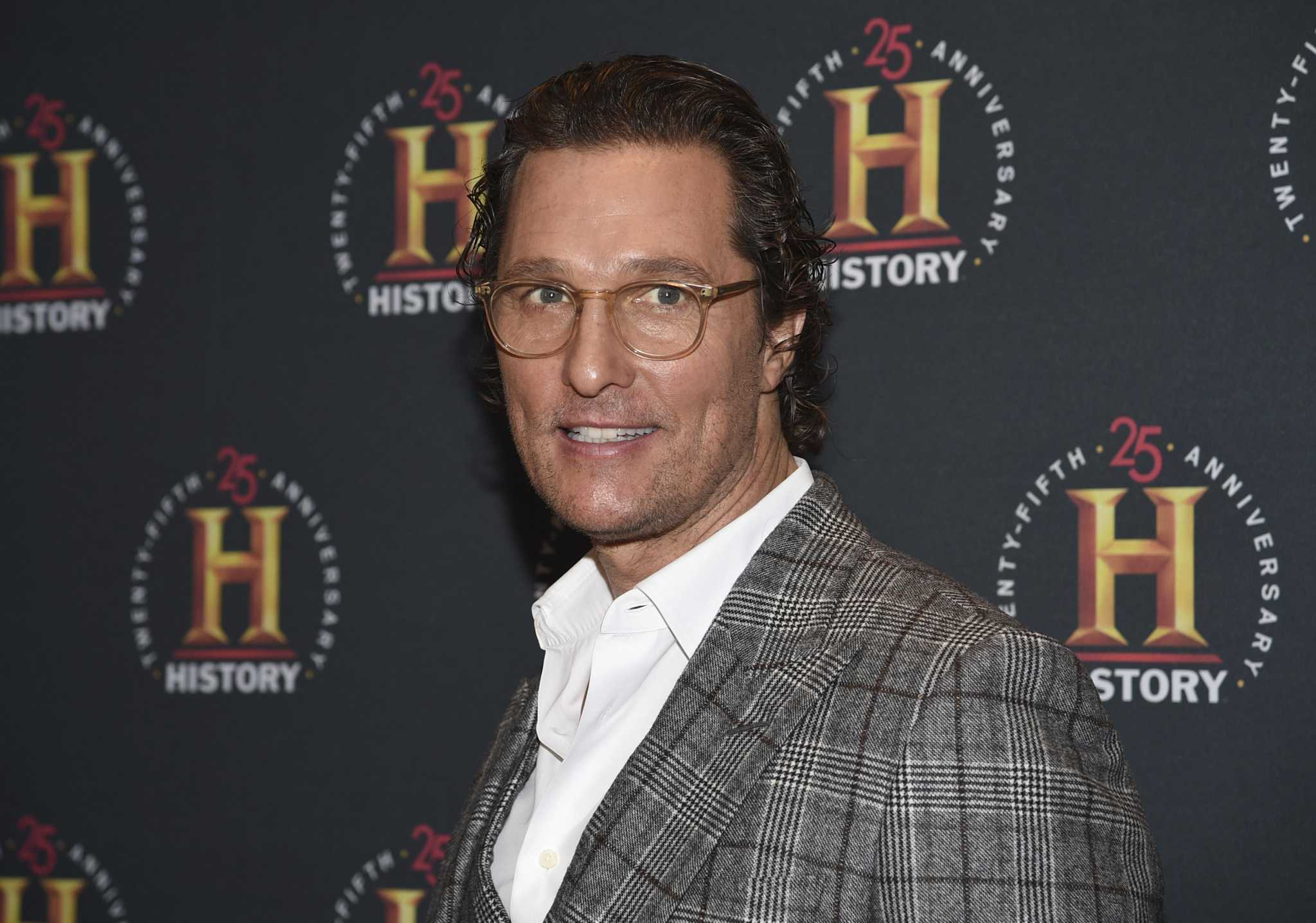 Matthew McConaughey to headline virtual book signing brunch
