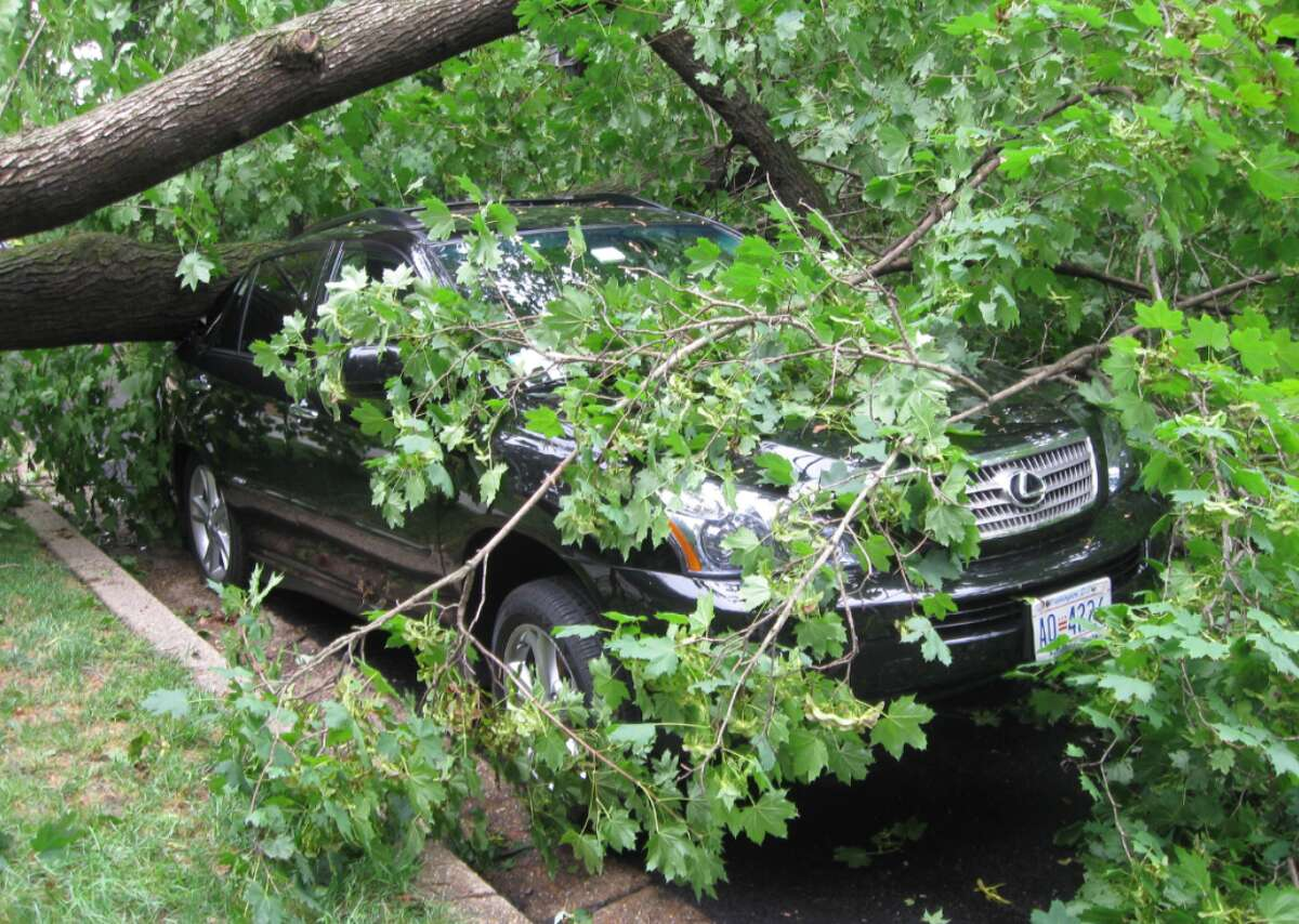 #52. District of Columbia - Annual property damage, summers 2009-2019: $279,818 - Annual summer property damage per capita: $0.40 (#3 lowest among all states) - Worst summer weather event: 2011 tropical storm in District Of Columbia ($2 million in property damage) Hurricane Irene was the costliest weather event in the nation's capital, bringing wind speeds of 60 miles per hour to Ronald Reagan Washington National Airport and drenching the city in more than 4 inches of rain when it hit in August 2011. Although the hurricane was downgraded to a tropical storm by the time it reached Washington D.C.,suburbs were battered with hurricane-force winds. Gusts in Maryland's Calvert County peaked at 72 miles per hour. This slideshow was first published on Stacker