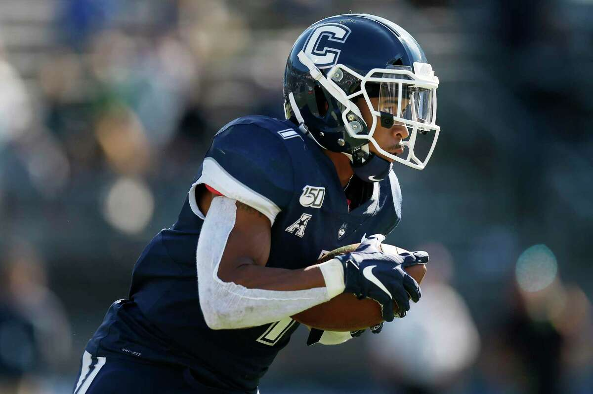 Connecticut Gov. Ned Lamont said Thursday he would be reluctant to allow UConn's football team to travel to any state with a high coronavirus infection rate this fall.