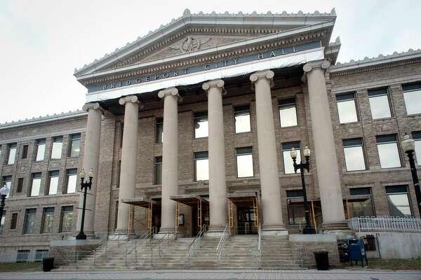 Exterior, Bridgeport City Hall in Bridgeport, Conn. March 1, 2018.