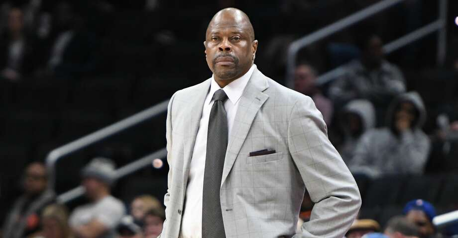 Head coach Patrick Ewing of the Georgetown Hoyas looks on during a college basketball game against the Providence Friars at the Capital One Arena on February 19, 2020 in Washington, DC. (Photo by Mitchell Layton/Getty Images) Photo: Mitchell Layton/Getty Images / 2020 Mitchell Layton