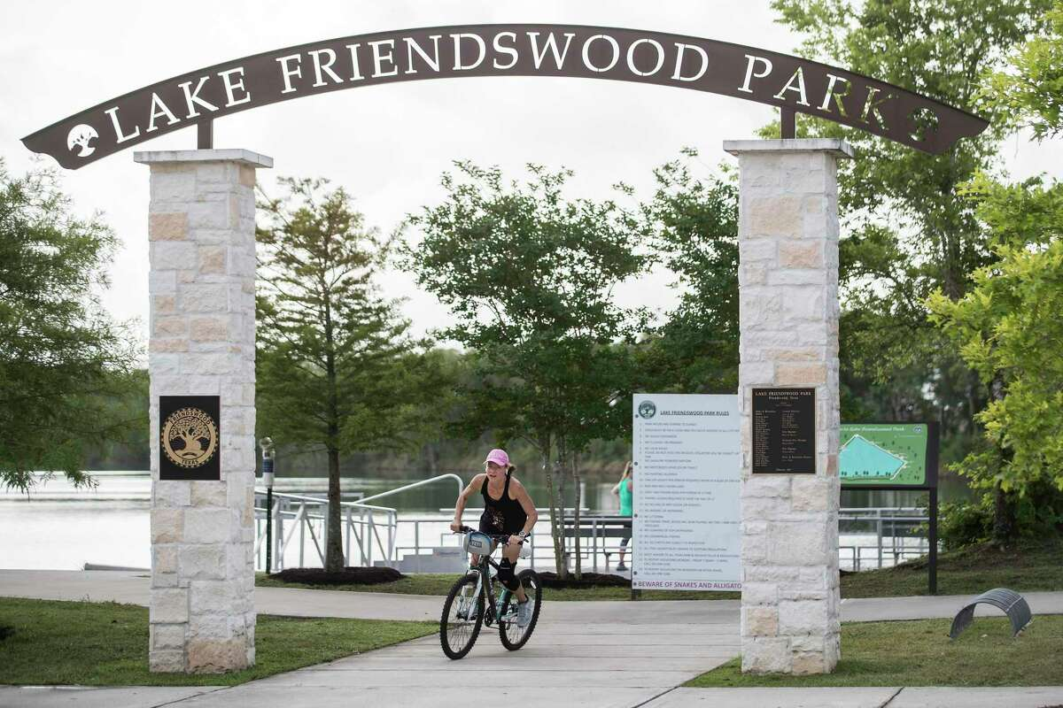 Lake Friendswood Park is at the center of a property dispute between the city of Friendswood and an area land owner.