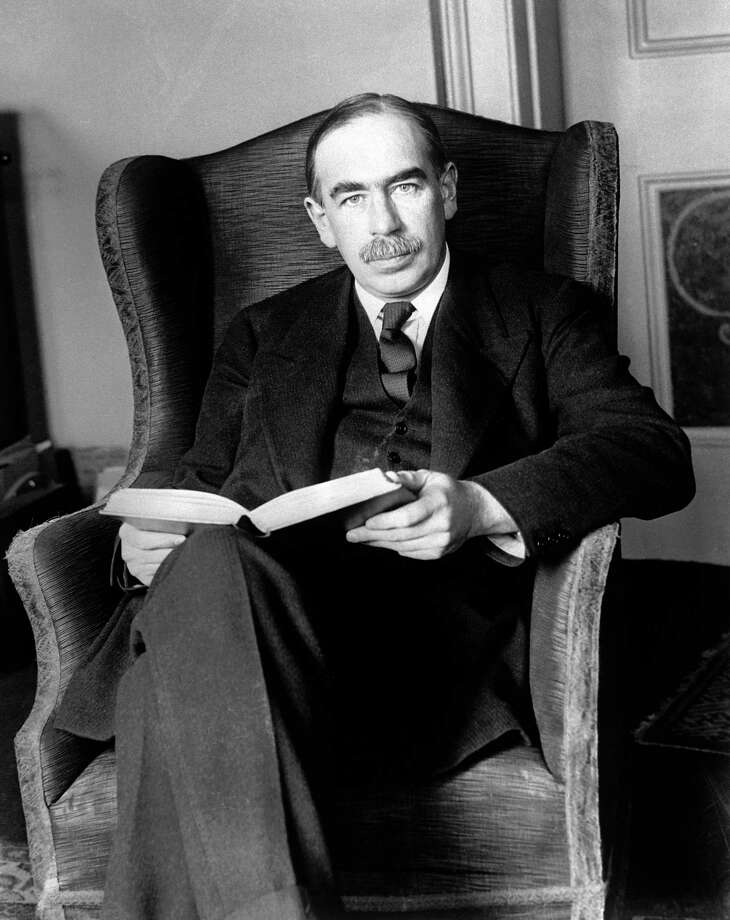 British economist John Maynard Keynes advocated government spending to fight the Great Depression. Photo: HANDOUT, HANDOUT / SFC / HANDOUT