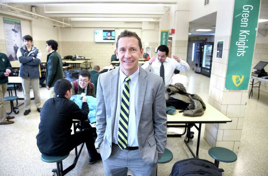 In this file photo, Robert Curis, president of Notre Dame High School in West Haven. Photo: Arnold Gold / Hearst Connecticut Media File Photo