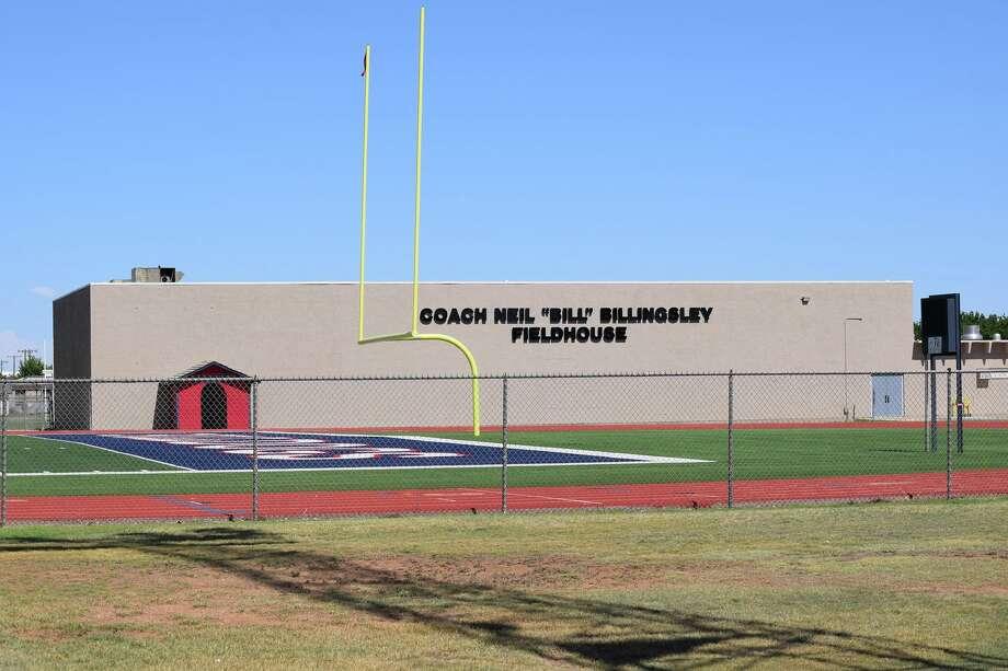 """Coach Neil """"Bill"""" Billingsley Fieldhouse Photo: Ellysa Harris/Plainview Herald"""