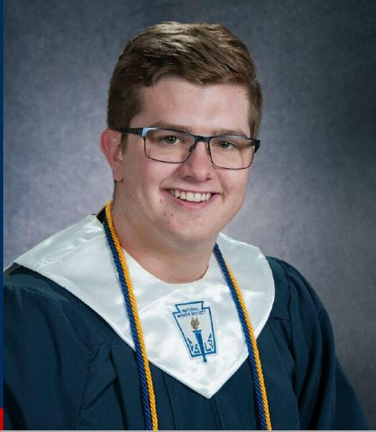 Mitchell Sims, Plainview High School Class of 2020 salutatorian