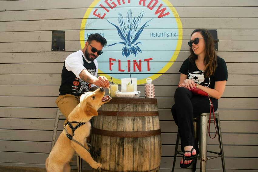 Morgan Weber, a co-owner of Agricole Hospitality, the group behind Eight Row Flint, was grateful to reopen the bar, which has been limited to drive-thru service since March 15.