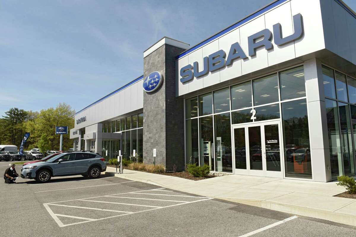 Exterior of Saratoga Subaru on Thursday, May 21, 2020 in Saratoga Springs, N.Y. (Lori Van Buren/Times Union)