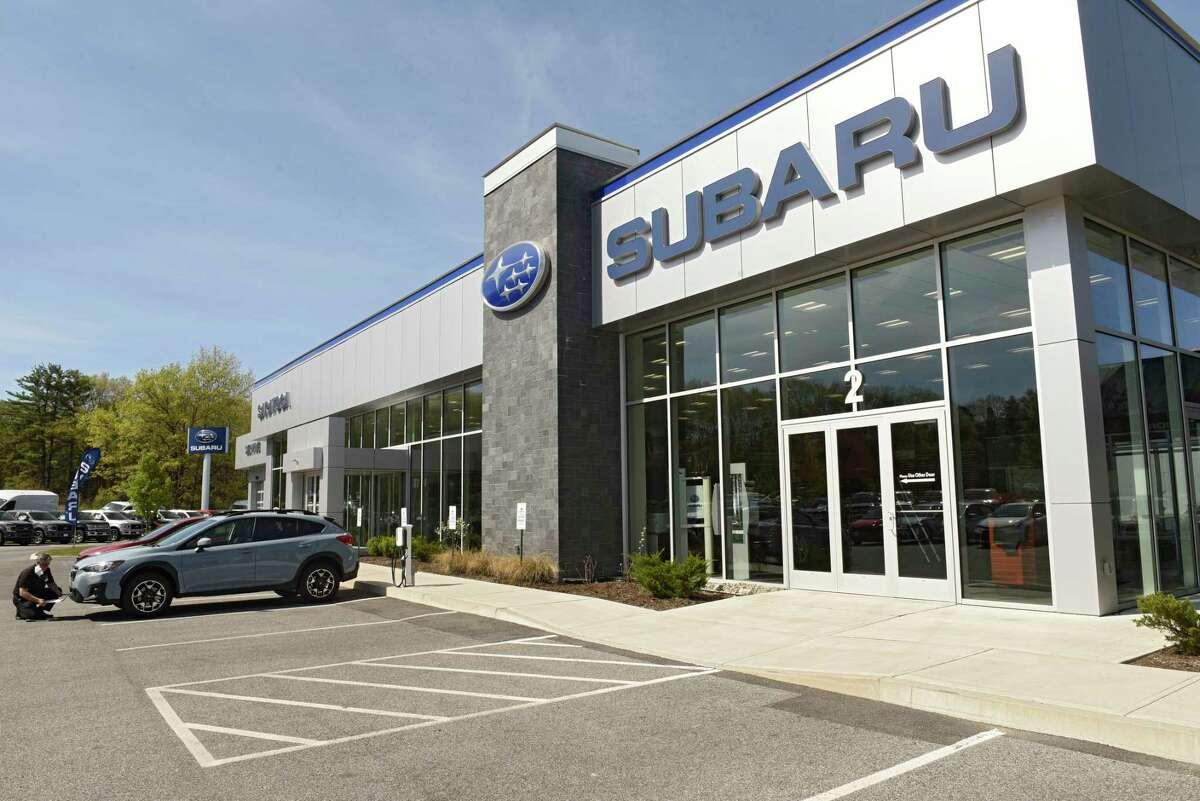 Exterior of Saratoga Subaru on Thursday, May 21, 2020 in Saratoga Springs, N.Y. (Lori Van Buren/Times Union)