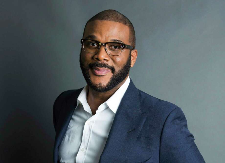 FILE - In this Nov. 16, 2017, file photo, actor-filmmaker and author Tyler Perry poses for a portrait in New York. Photo: Amy Sussman / 2017 Invision