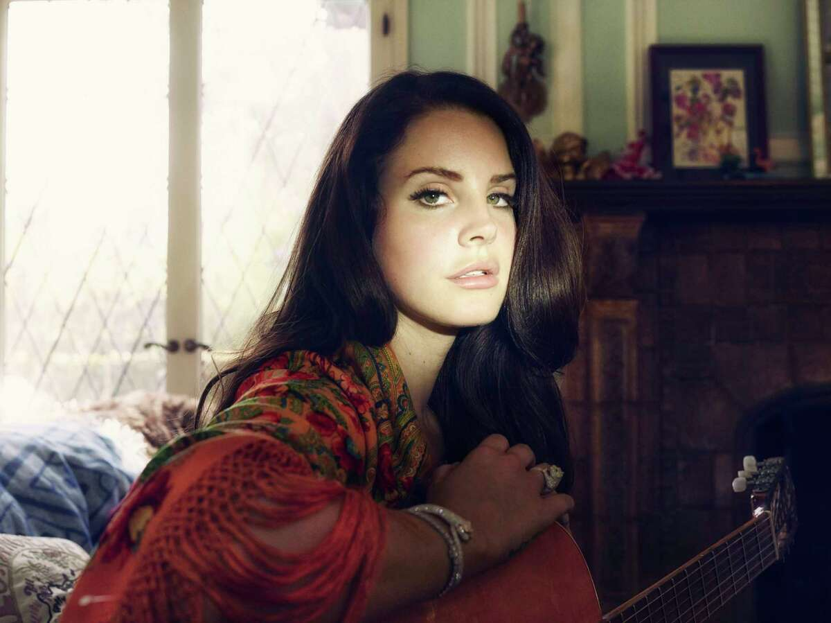 FILE -- Lana Del Rey at her home in Los Angeles, June 6th, 2014. In