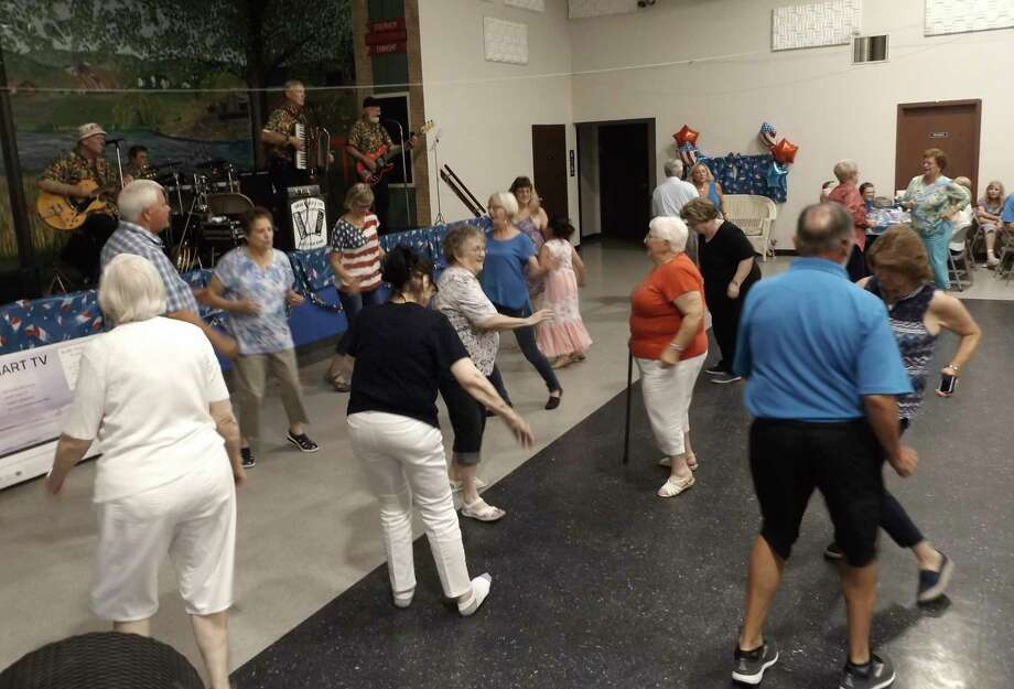 A glimpse at last year's Kickoff to the 4th of July party. This year theseniorcenter will be foregoing the festivities, but looking forward to the day when things are back tonormal. (Courtesy Photo)