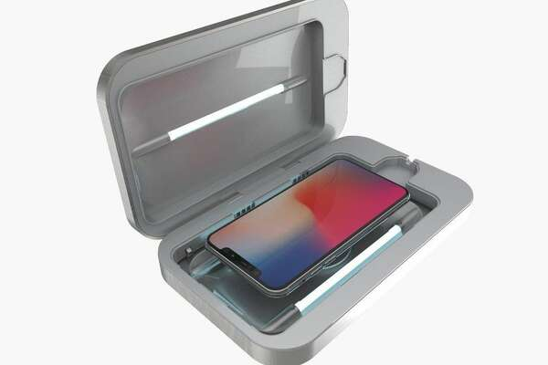 UV-C technology is nothing new -- it's been used before in consumer devices such as the PhoneSoap, pictured -- but safety concerns are on the rise as companies claim their UV-C light devices kill the coronavirus.