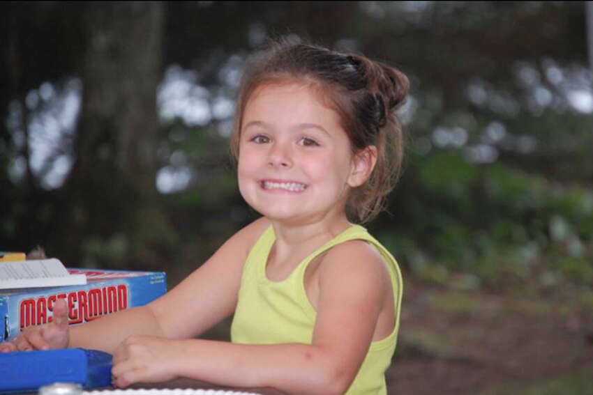 Gabriella Collins, who was killed by her father in 2014. The father, Glenn Collins, was convicted of manslaughter.