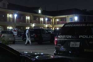 Police are investigating a potential homicide after a man was found dead Friday evening at the Pearl Inn in southwest Houston.
