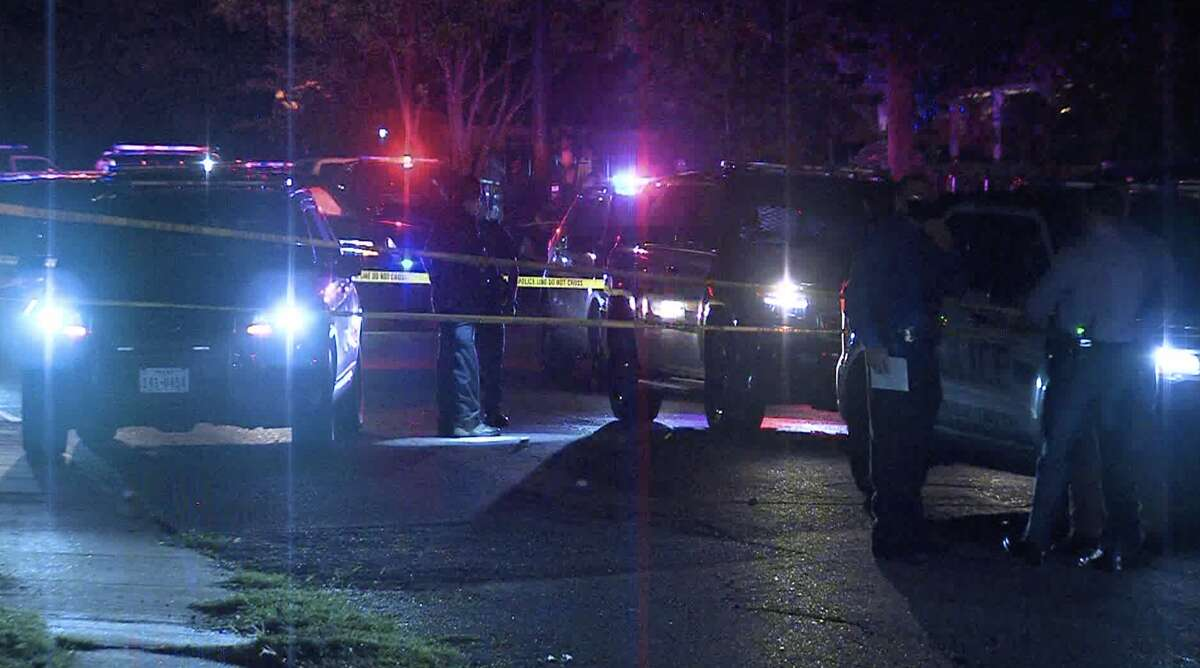 According to SAPD, one man was taken to the hospital after three shots were fired by police at a man found holding a rifle in an alley on the West Side Friday evening.