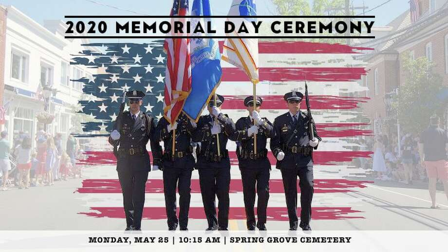 Darien will have a scaled down ceremony on Monday morning for Memorial Day - it will be lived streamed by DAF Media. Photo: DAF Media