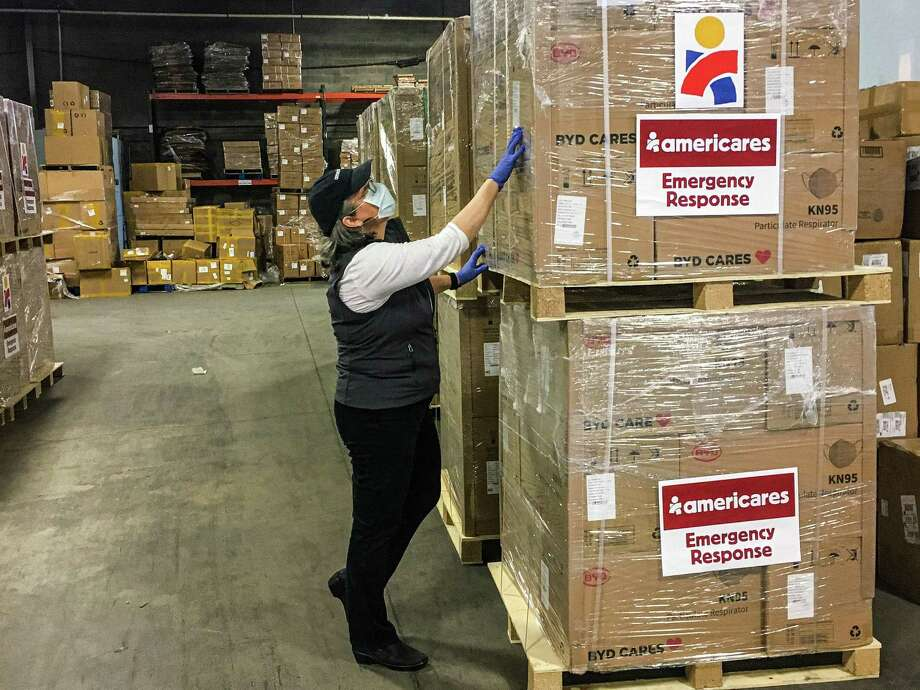 Americares is delivering protective masks for health workers on the front lines of the COVID-19 pandemic in the United States. Photo: Contributed Photo